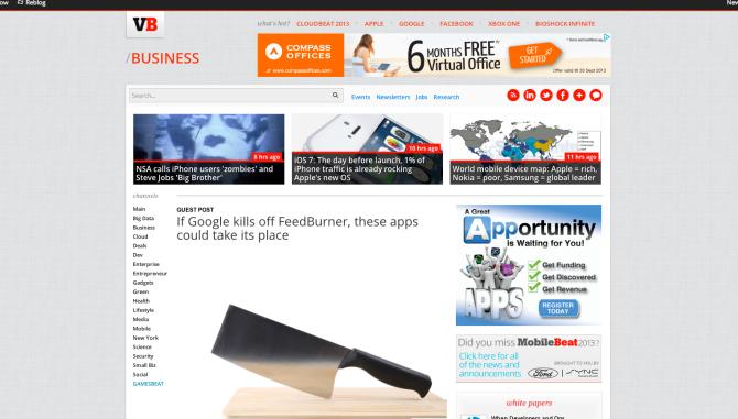 VentureBeat-feedpress
